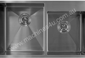 Alphaline UD714420 Stainless Steel Double Sink