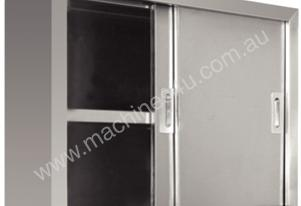 NEW VOGUE STAINLESS STEEL CUPBOARD
