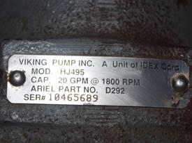 Viking Lube Oil Pump HJ495 - picture1' - Click to enlarge