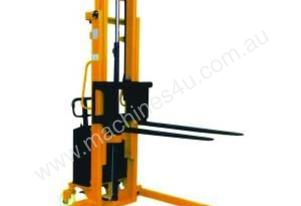 Semi Electric Powered Straddle Stacker