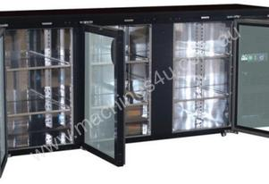 Three Door Bar Fridge / Beer Refrigerator