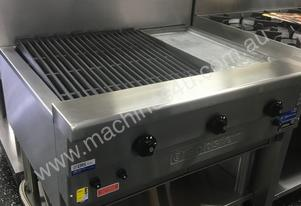 Goldstein 900mm Char Grill + Hot Plate RBA 361