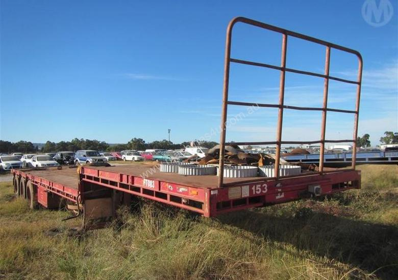 Used Afm TRI-AXLE Drop Deck Trailer in PERTH+INTERNATIONAL+AIRPORT, WA