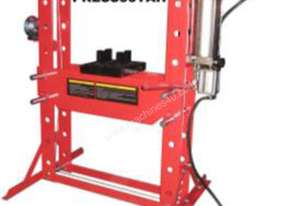 50 TON AIR HYDRAULIC SHOP PRESS WITH FOOT VALVE