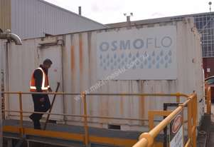 Containerised demineralised water plant