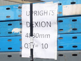 Dexion Upright 4880mm Pallet Rack - picture1' - Click to enlarge