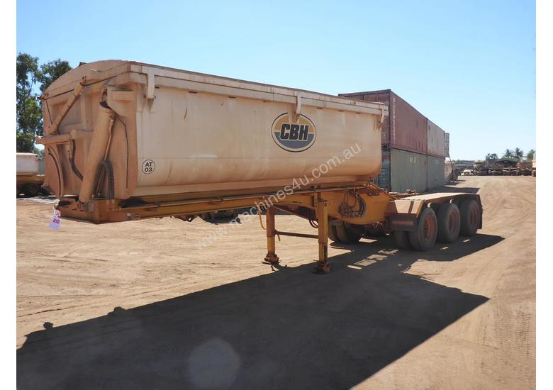 2013 GTE TRi Axle Side Tipping A  Trailer AUCTION