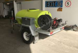 FIRE PATROL TRAILER WITH PUMP & HOSES