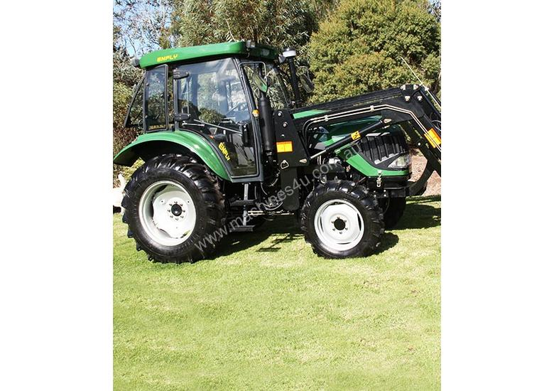 New Enfly 554 Tractor with Cabin & front end loader