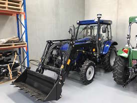New Enfly 554 Tractor with Cabin & front end loader - picture0' - Click to enlarge