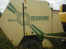 Krone KR10-16 Round Baler Hay/Forage Equip - picture0' - Click to enlarge