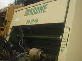 Krone KR10-16 Round Baler Hay/Forage Equip - picture2' - Click to enlarge