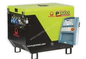 Pramac 13.9kVA Three Phase Petrol Auto Start Silenced Generator + AMF