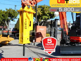 UBT20S Silence Excavator Hydraulic Rock Breaker ATTUBT - picture0' - Click to enlarge
