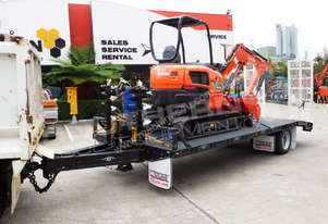 U35 3.2 Ton Excavator combo with 9 TON Tag Trailer MACHEXC
