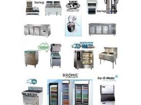 F.E.D EF-S7.52 10 Amp Double Benchtop Electric Fryer with Cold Zone - picture2' - Click to enlarge
