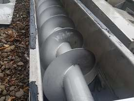 Stainless Steel Screw Conveyor - picture2' - Click to enlarge