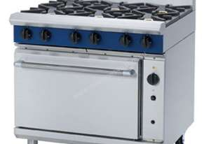 Blue Seal Evolution Series G56D - 900mm Gas Range Convection Oven