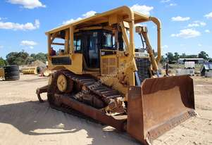 Cat D6T Dozer with Scrub Canopy