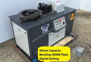 50mm Digital Angle Set Bender With 4 Sets Tooling - Hydraulic Clamp & Release $3500 Tooling Pack