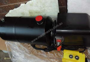HYDRAULIC POWER PACK SINGLE ACTION 12 VOLT