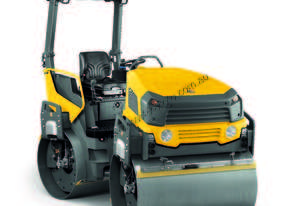 Wacker Neuson Double drum ride on roller
