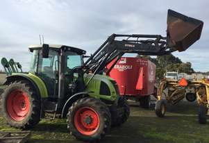 Claas Ares 557 FWA/4WD Tractor