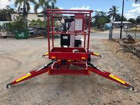 2007 Nifty Lift 120TPE Trailer mounted cherry picker - picture2' - Click to enlarge