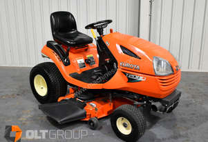 Kubota Ride on Mower T2080 42 Inch 3 in 1 Deck 20hp Kohler Petrol Engine 171 Hours