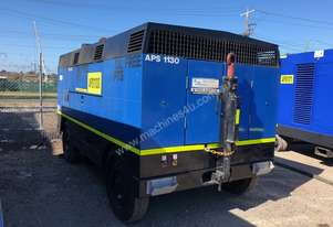 Atlas Copco PTS1200, 10bar Oil Free Diesel Air Compressor 1200cfm, 3 Month Warranty