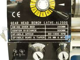 AL-250G Bench Lathe 250 x 500mm Turning Capacity - picture3' - Click to enlarge