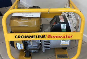 CROMMELINS P35 3.5KVA PORTABLE HOME GENERATOR  ** IN STOCK NOW IN MACKAY **