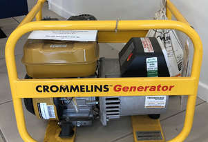 CROMMELINS P35 3.5KVA PORTABLE HOME GENERATOR