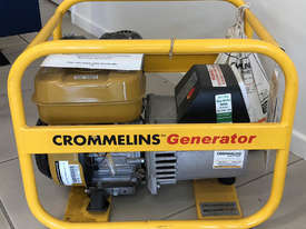 CROMMELINS P35 3.5KVA PORTABLE HOME GENERATOR - picture0' - Click to enlarge