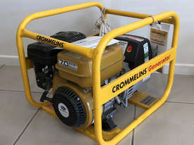 CROMMELINS P35 3.5KVA PORTABLE HOME GENERATOR - picture1' - Click to enlarge