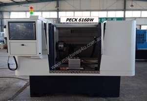 NEW PECK6160W CNC WHEEL LATHE WITH FULL PROTECTION (TOUCH OR LASER PROBE)