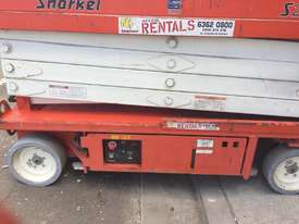 SNORKEL SCISSOR LIFT 8M METRE S2646 - picture2' - Click to enlarge