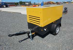 Atlas Copco LUY050-7 180 CFM Single Axle Compressor
