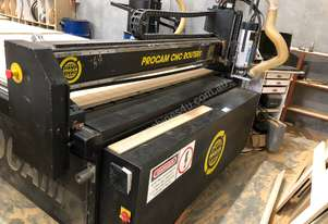 Procam CNC router 2400x1800. Located NSW
