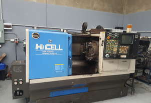 CNC LATHE MACHINE HITACHI SEIKI Hi CELL Super Productive Integrated Turning Cell