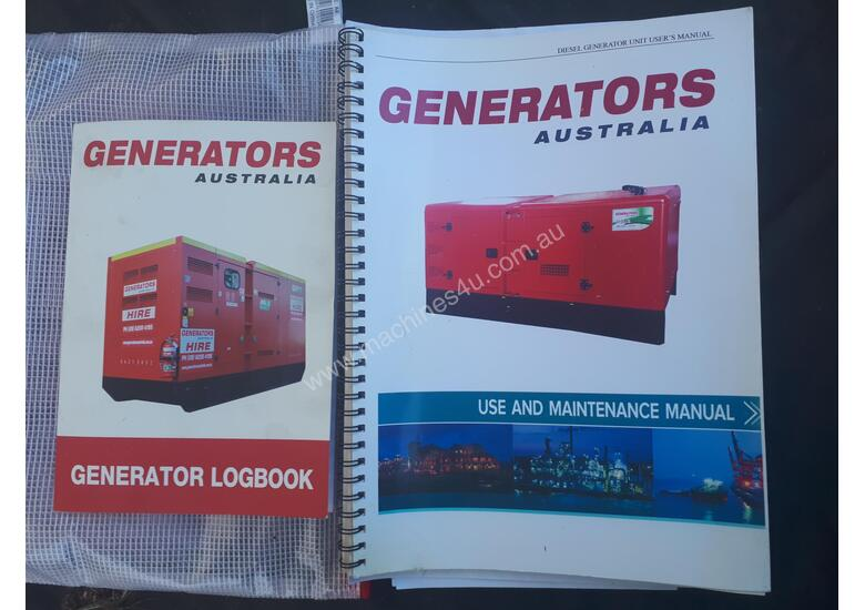350 KVA used low hours available for sale 350KVA