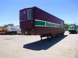 1997 Krueger 45ft Triaxle Drop Deck Refrigerated Tautliner Trailer - picture0' - Click to enlarge