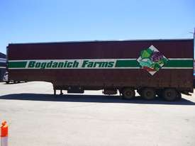 1997 Krueger 45ft Triaxle Drop Deck Refrigerated Tautliner Trailer - picture7' - Click to enlarge