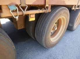 1997 Krueger 45ft Triaxle Drop Deck Refrigerated Tautliner Trailer - picture8' - Click to enlarge