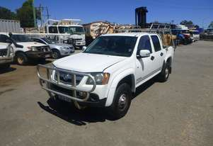2009 Holden Colorado LX 4x2 Dual Cab Well Body Utility