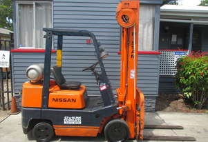 Nissan 2.5 ton, Container Mast, LPG Used Forklift