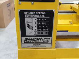 Woodfast Lathe M910 - picture5' - Click to enlarge