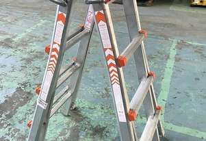 Waku Transformer Ladder Compact Telescopic Extension Double Sided Industrial 120kg