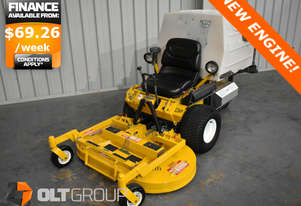 Walker Zero Turn Mower with NEW ENGINE! MT23GHS 48 Inch Deck Kohler 23hp Petrol