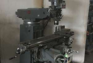 Pacific FTV-2S Turret Milling Machine, with 3 axis DRO